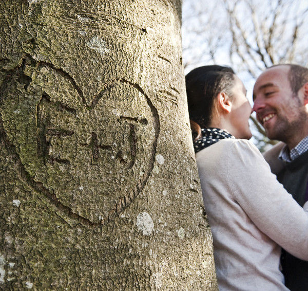 Emily & Jobey Pre-Wedding portrait session, New Forest