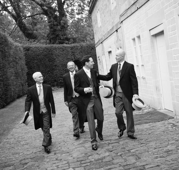 Wedding photography, Babington House - Nadine & Marco