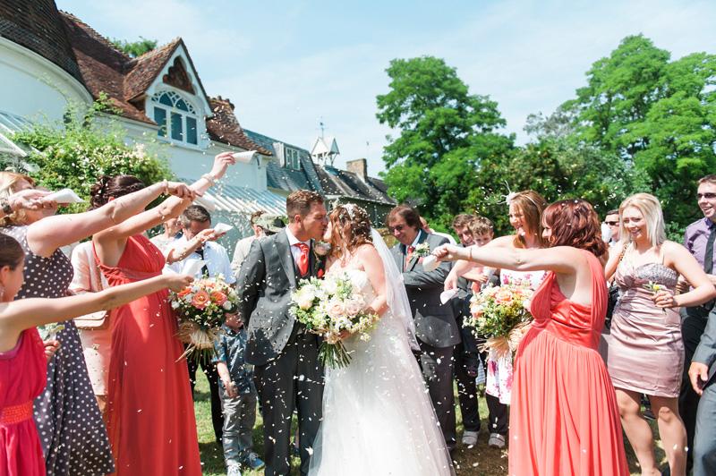 Houghton Lodge Wedding photography0035