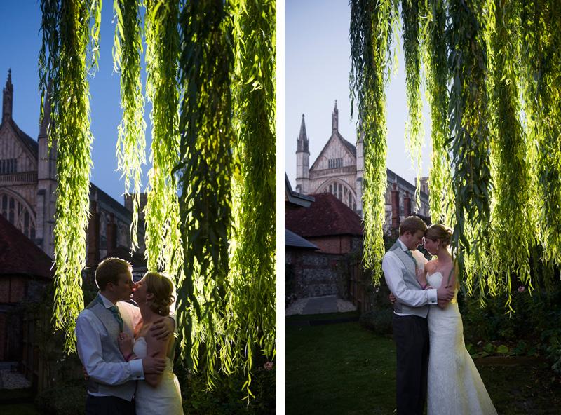 St Cross wedding photography - Natasha & Oliver