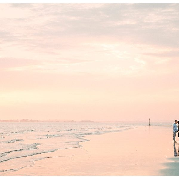 Uk Film Photography // Beach Session // Kate + Brent