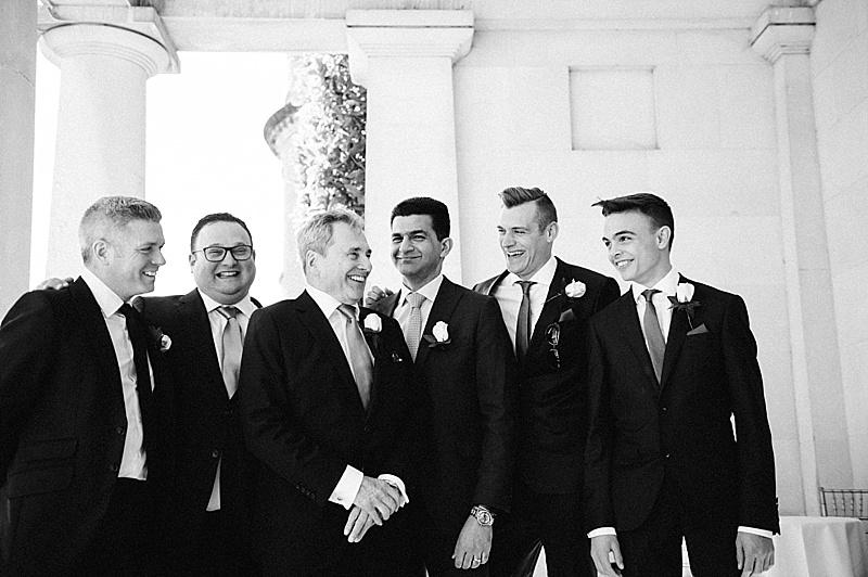 groomsmen natural