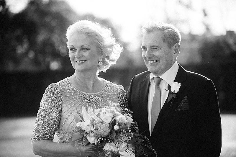 Bride & Groom Goodwood House Wedding