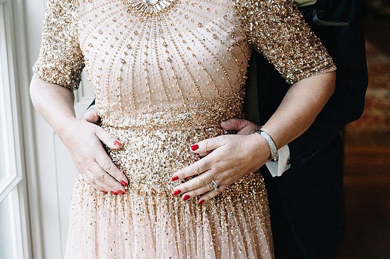 Bride & Groom Goodwood House Wedding Jenny packham dress