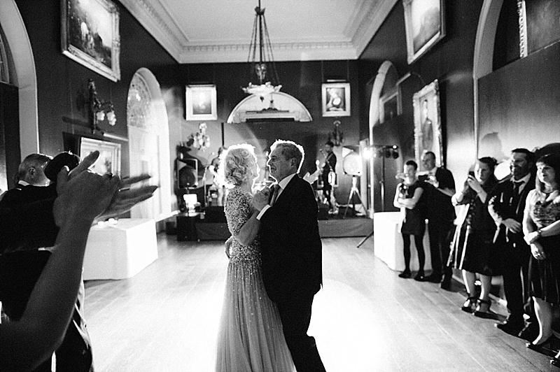 First Dance Bride & Groom Goodwood House Wedding