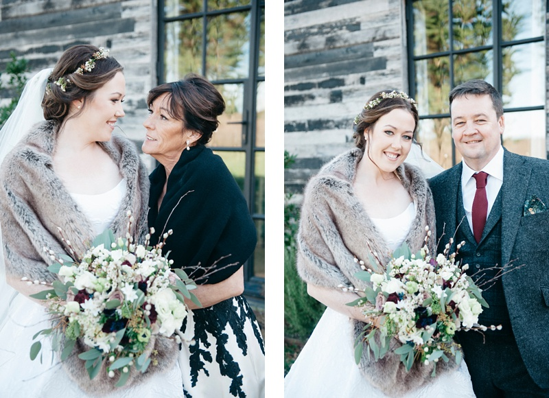 winter wedding at The Pig, Cooper Photography