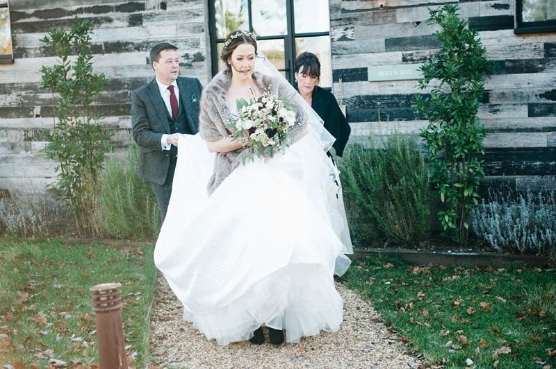 winter bride, Cooper Photography