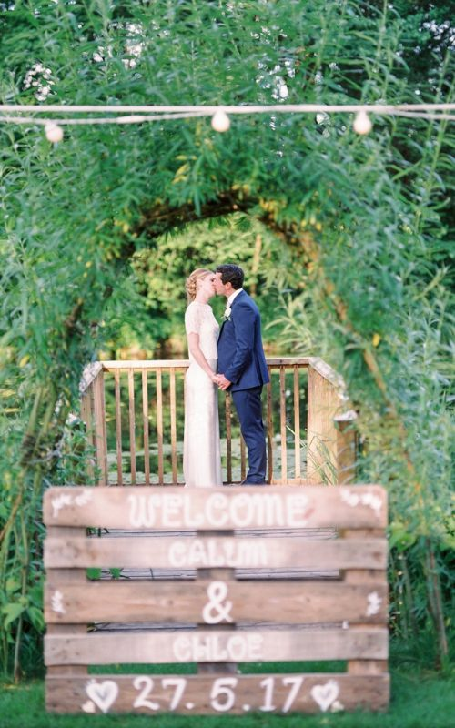 Spring Outdoor Wedding at Deans Court Wimbourne // Chloe & Calum
