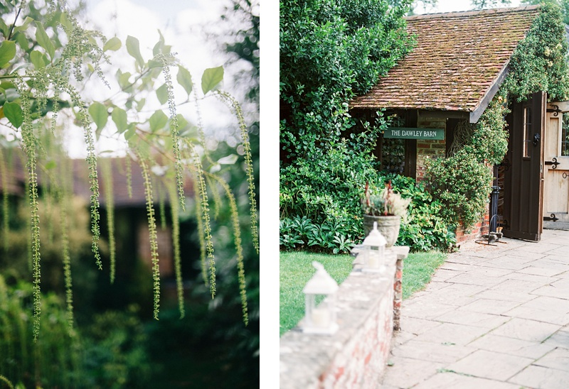 Dawley Barn Lainston house wedding