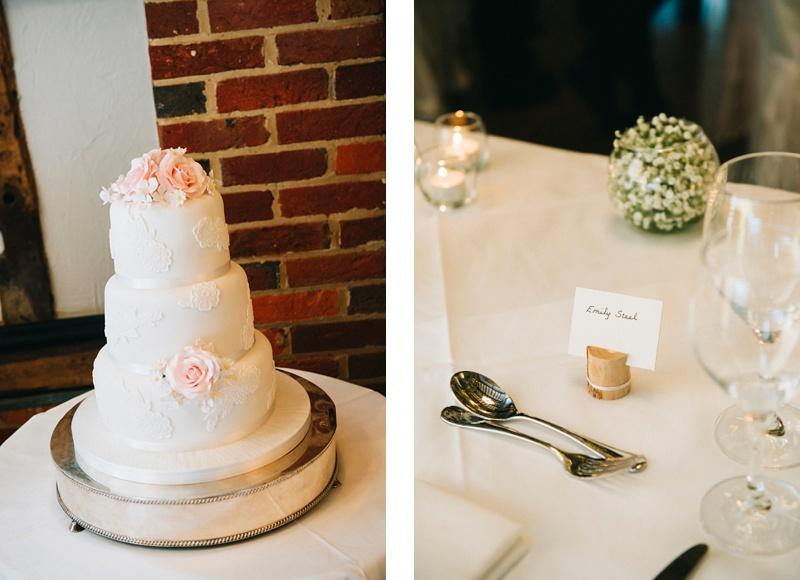 Wedding Cake Lainston house wedding